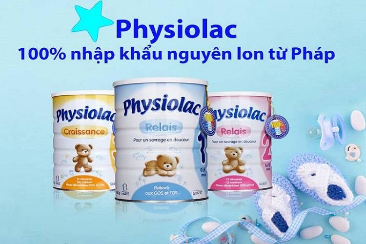 Sua Physiolac tu phap