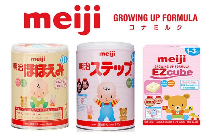 Sua Meiji và Wakodo Sua Meiji den tu nhat